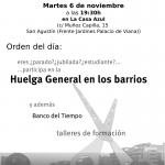 Asamblea Axerquía Norte martes 6 de noviembre