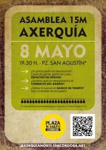 cartel Asamblea 8M